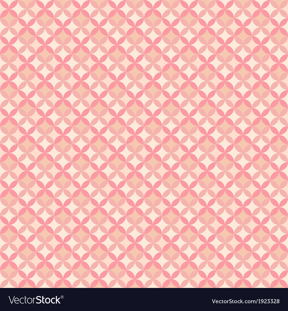 Abstract Geometric Floral Pattern Wallpaper Vector Image