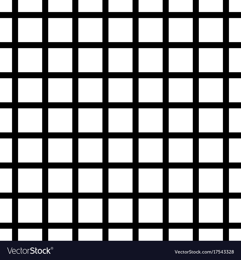 Black And White Grid Background Royalty Free Vector Image