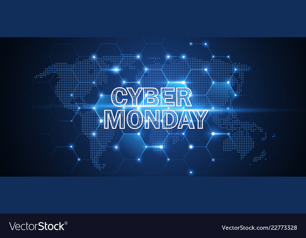 Cyber monday online sale event technology