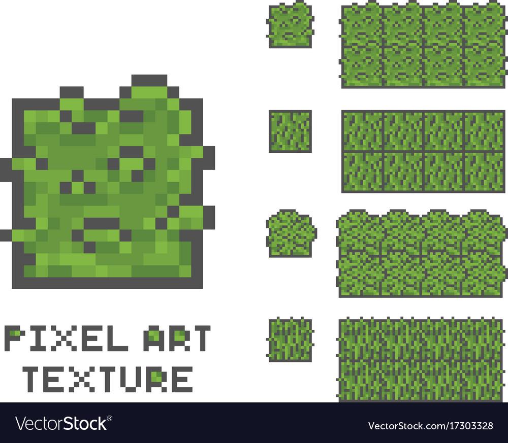Pixel art 8 bit game sprite green