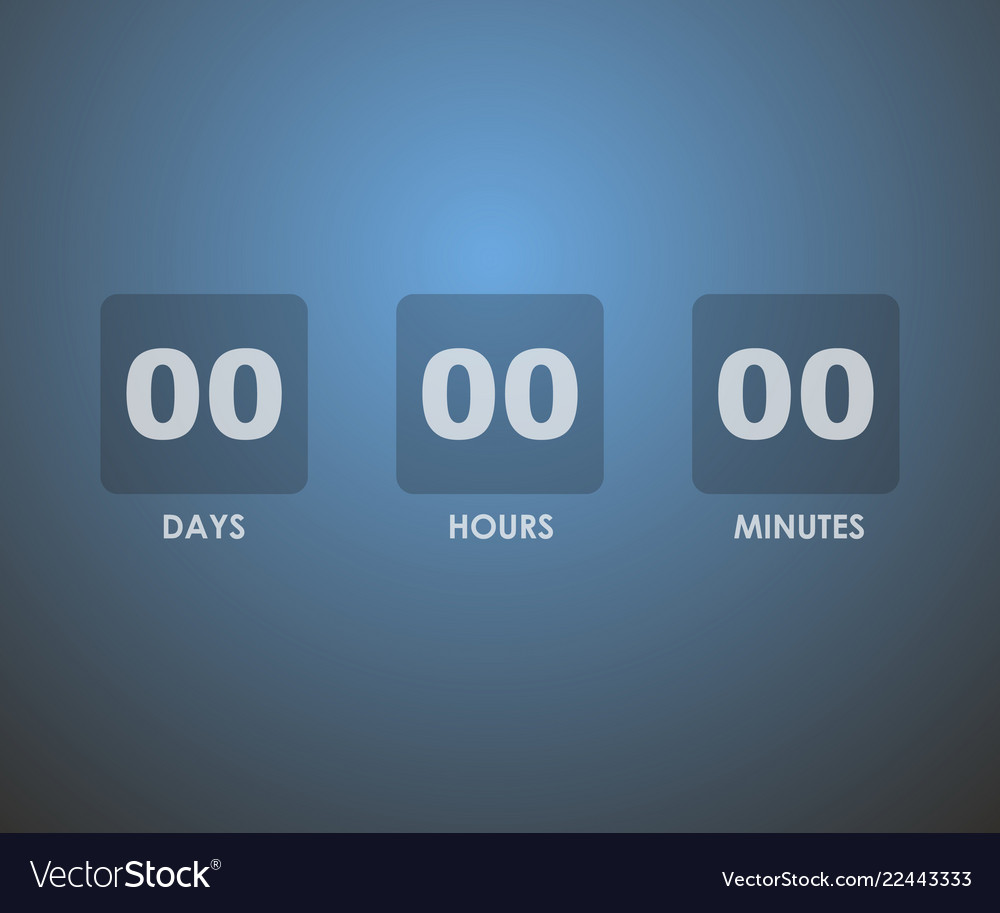 Countdown timer background