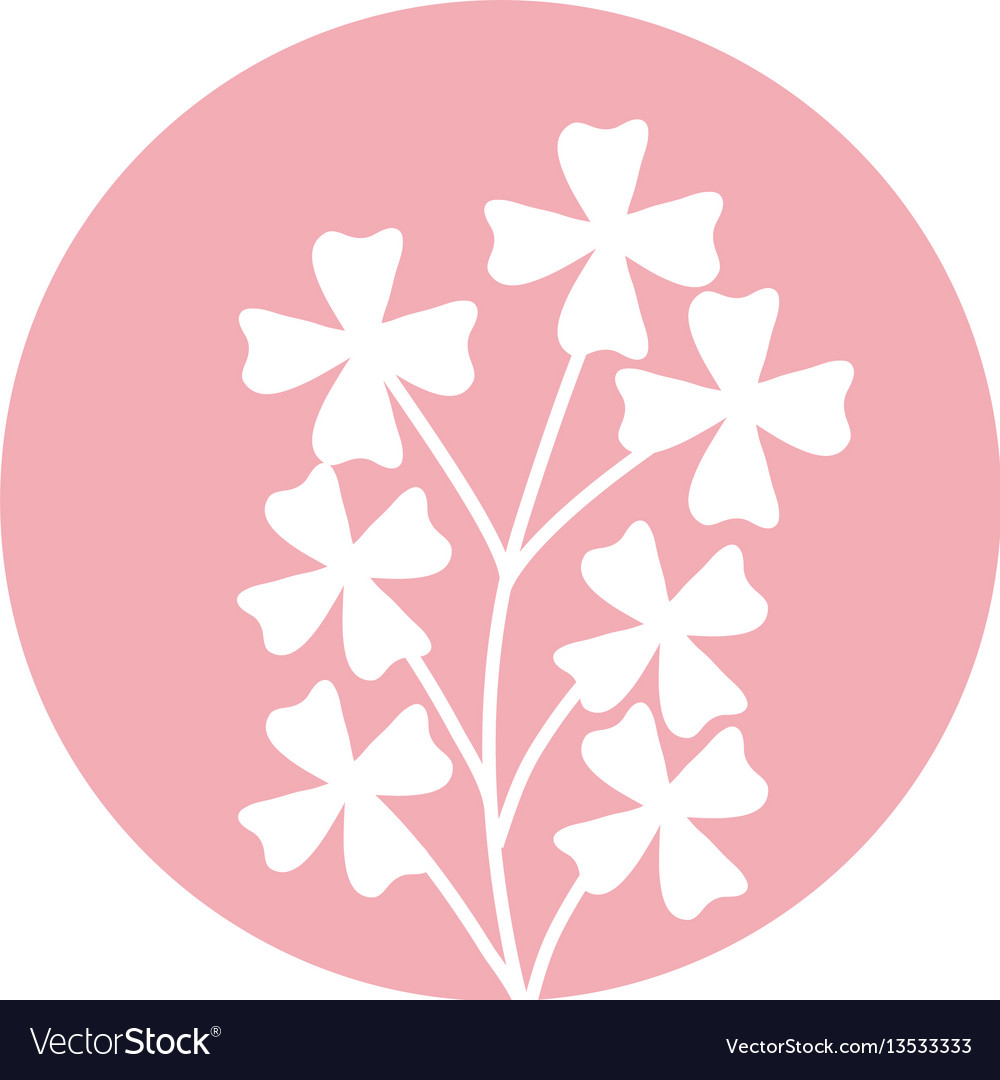 Cute flower natural icon