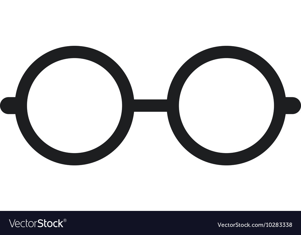 glasses nerd isolated icon royalty free vector image rh vectorstock com glasses factory outlet glasses factory uk
