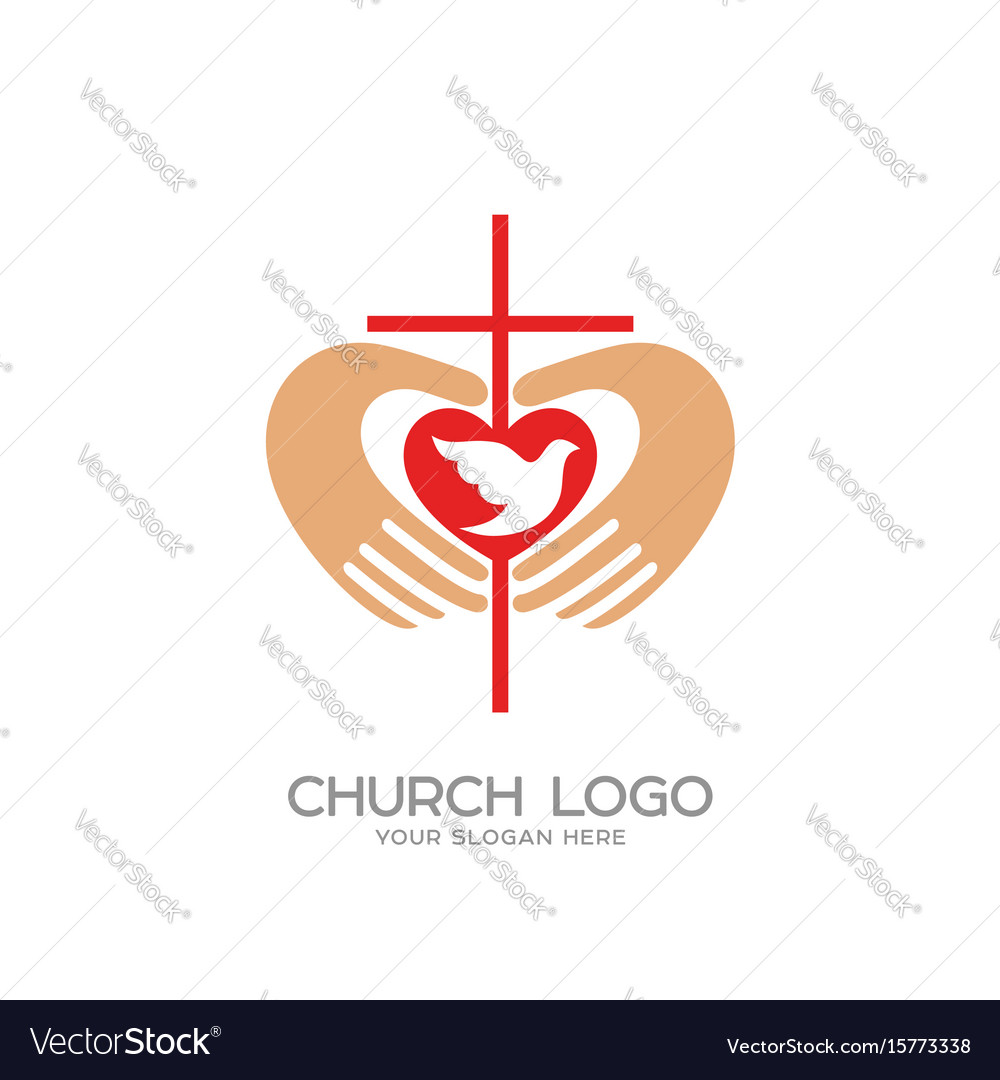 The cross and the hands of christ the heart