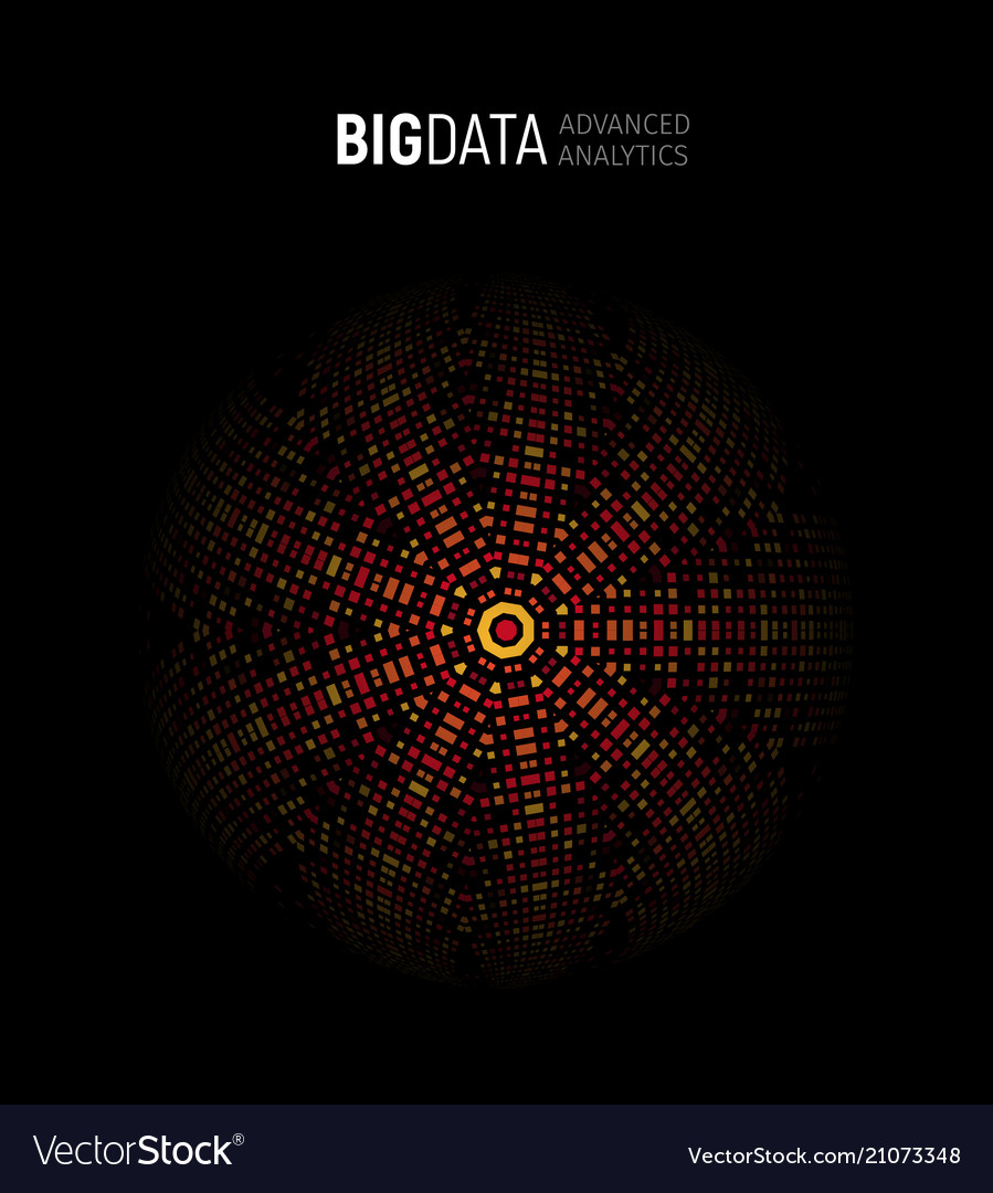 Big data advanced analysis geometrical circular