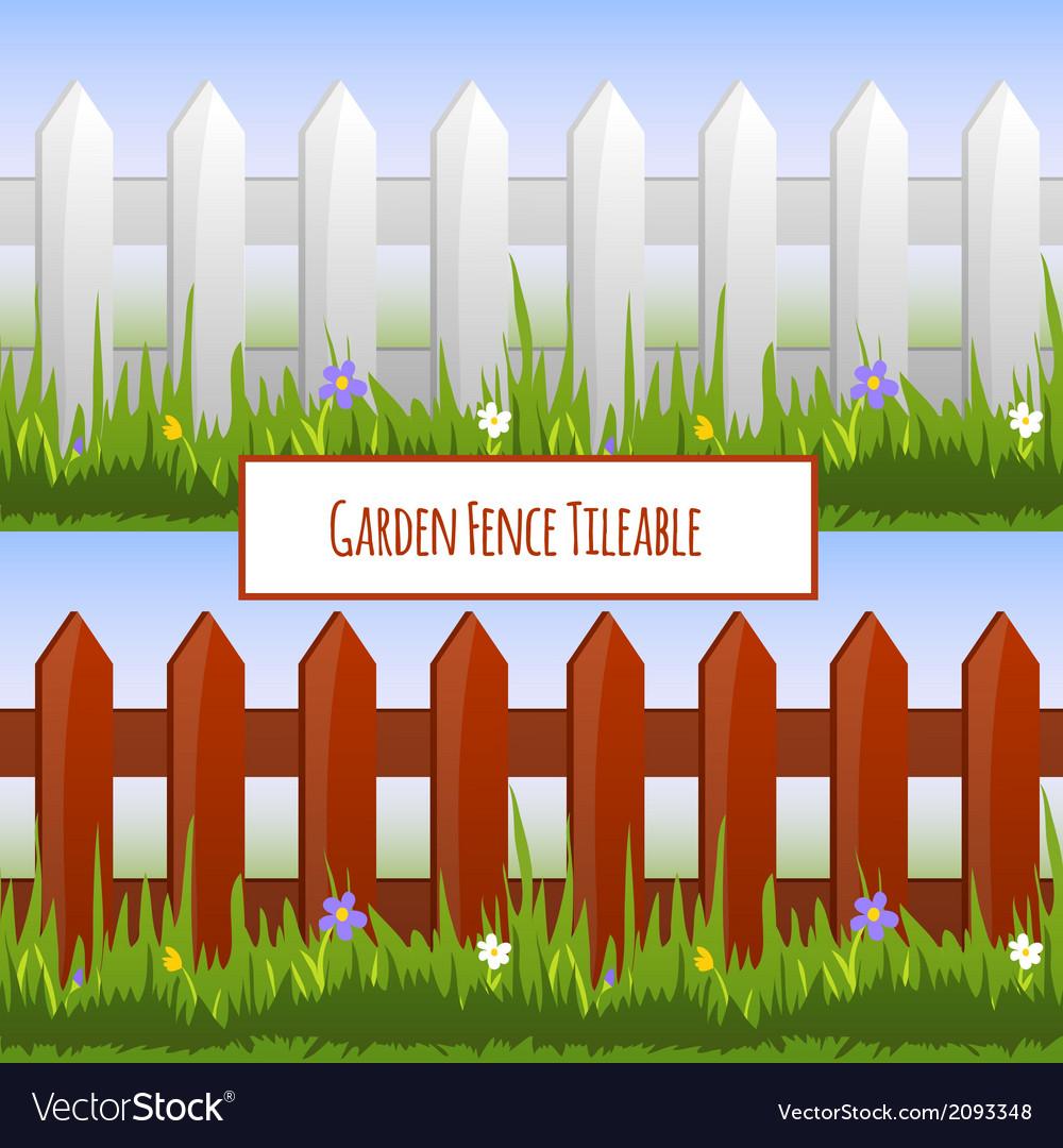 Garden fence pattern