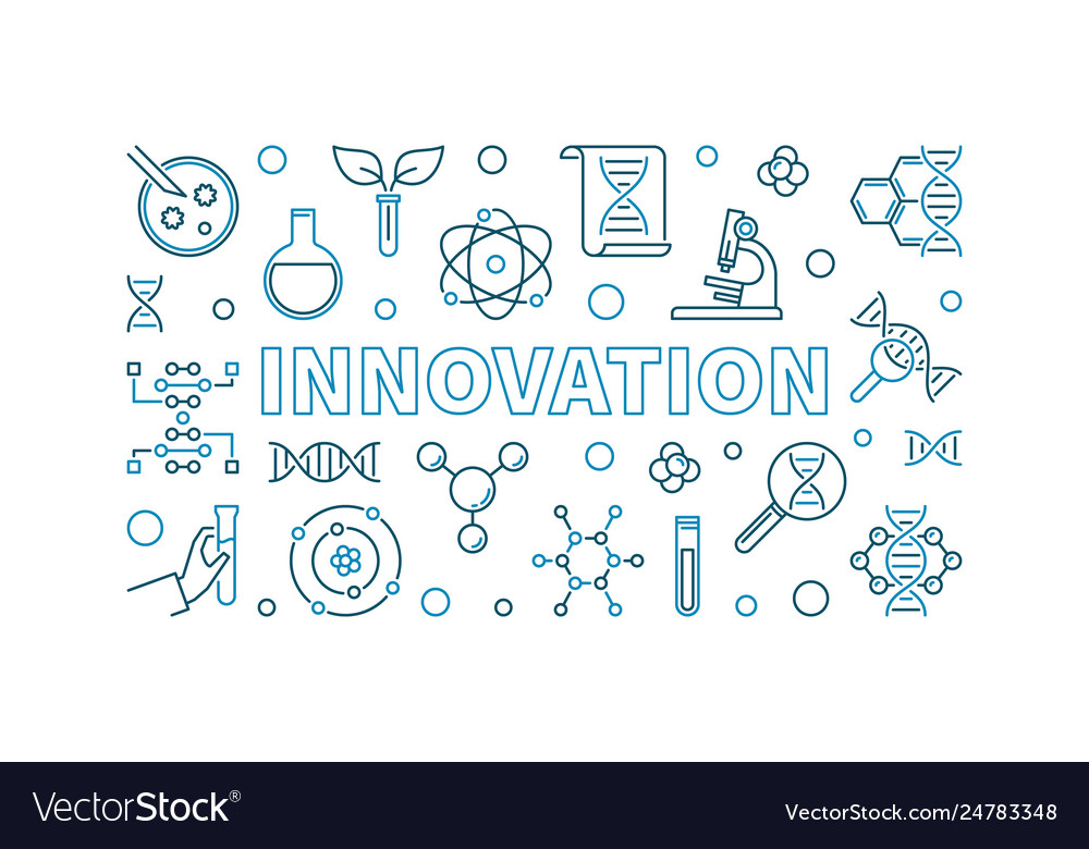 Innovation outline banner - genetics linear