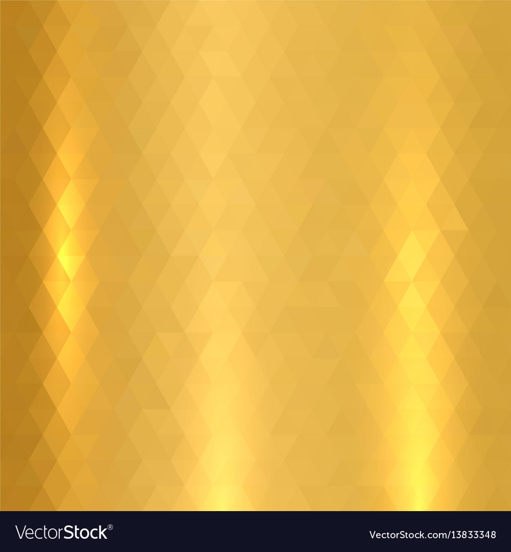 Shiny metallic gold texture vector image