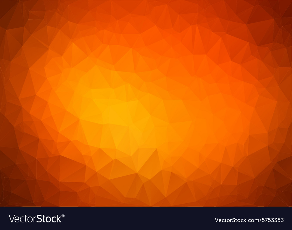 Abstract orange Geometric Background for Design