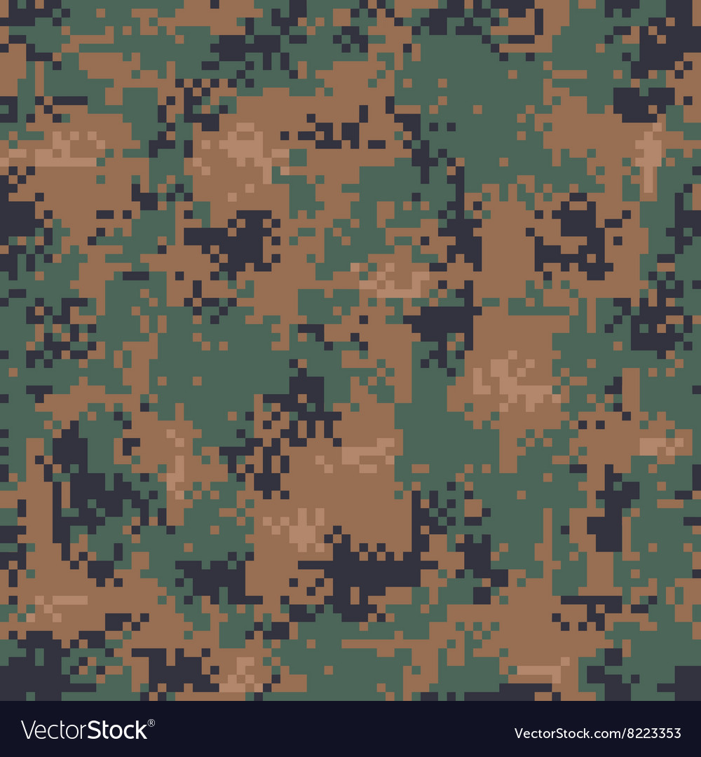 cheaper get online pretty cool Digital Woodland Camouflage Seamless Pattern