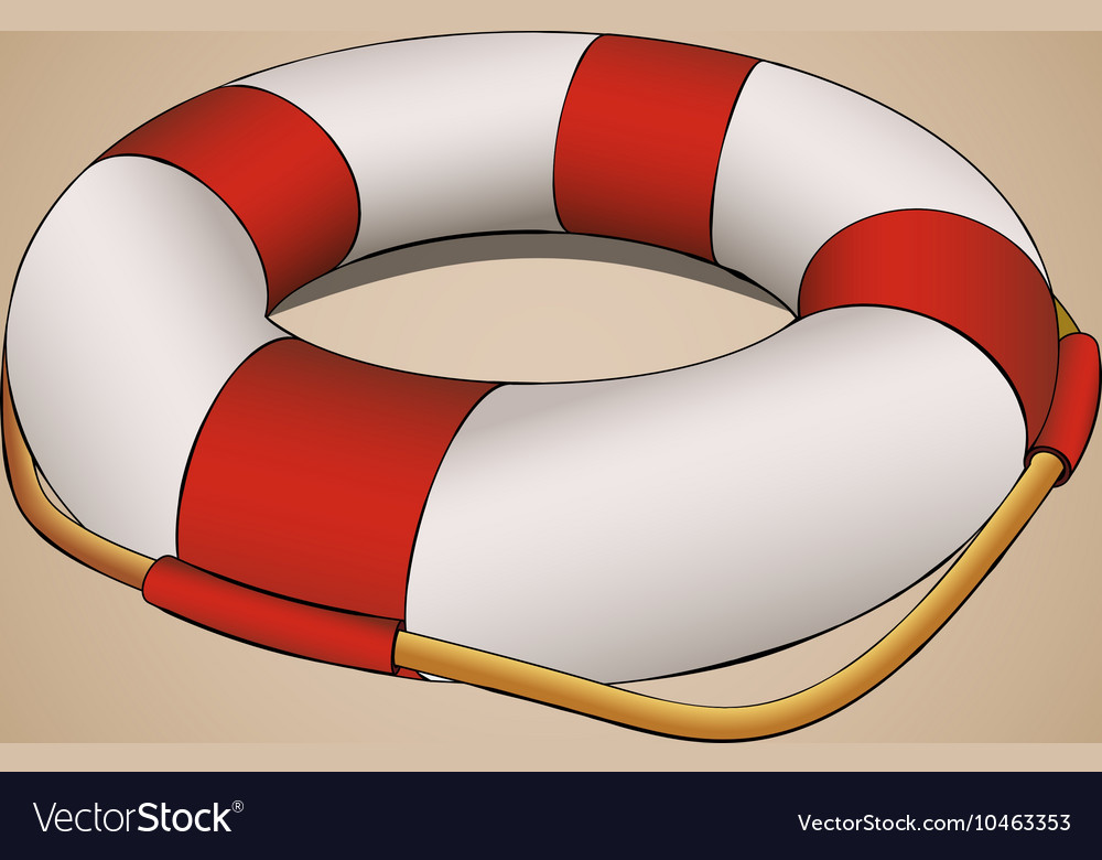 Lifebuoy in perspective