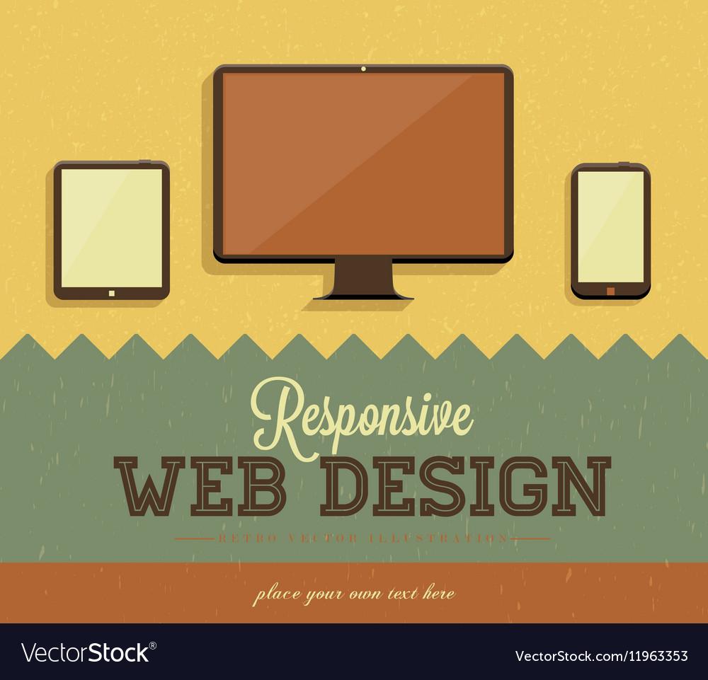 Retro Web Design Template