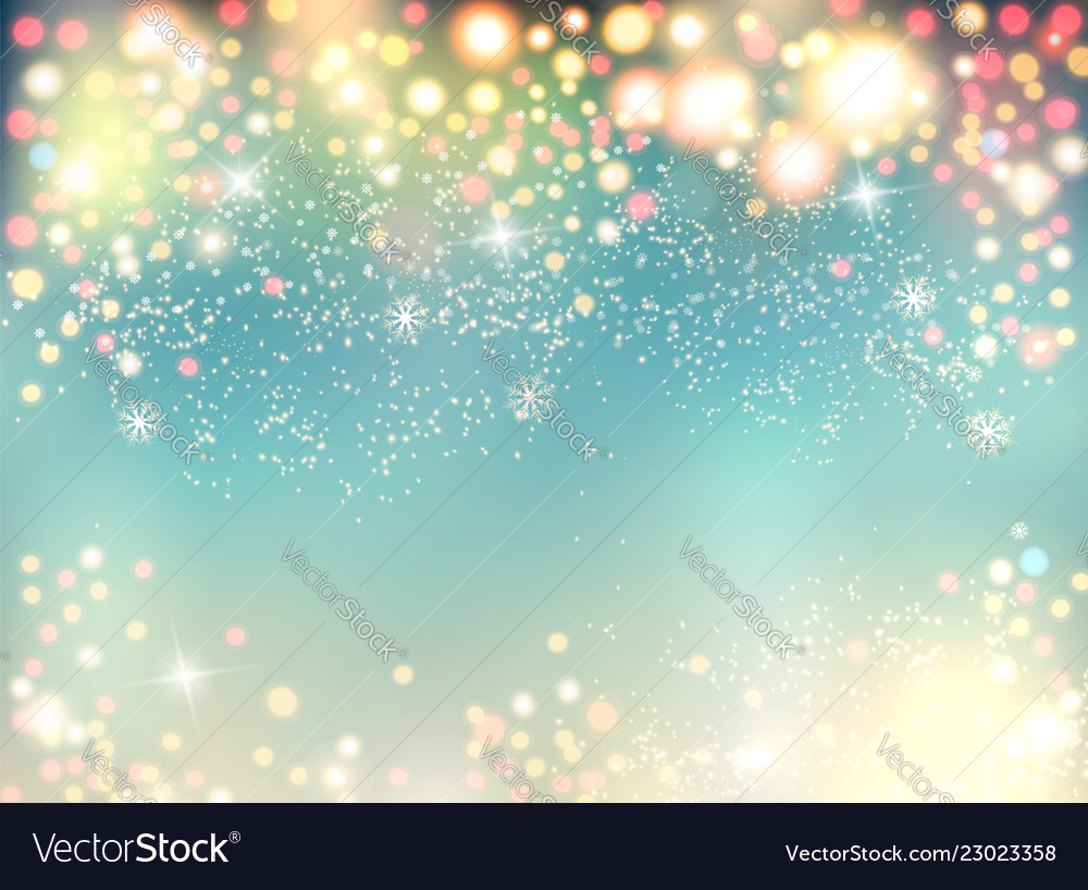 Abstract holiday christmas lights on background