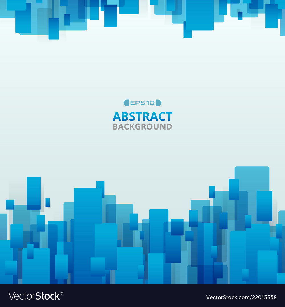 Abstract of gradient blue trendy technology