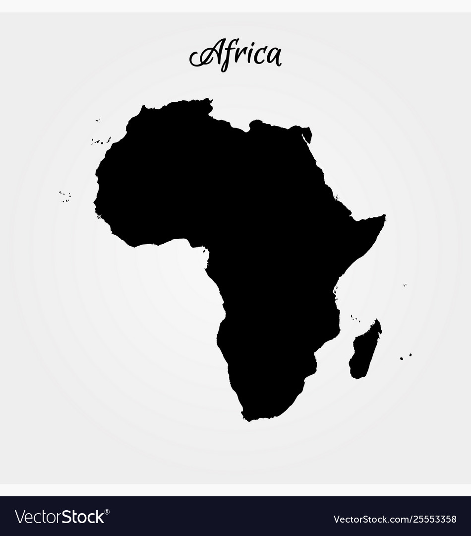 map of africa vector Map Africa World Map Royalty Free Vector Image map of africa vector