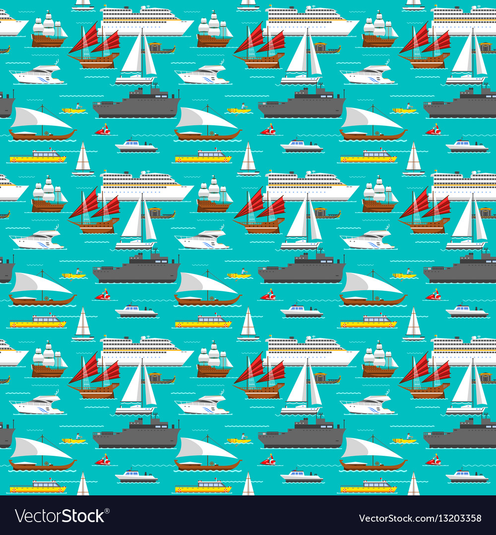 Sea transport pattern