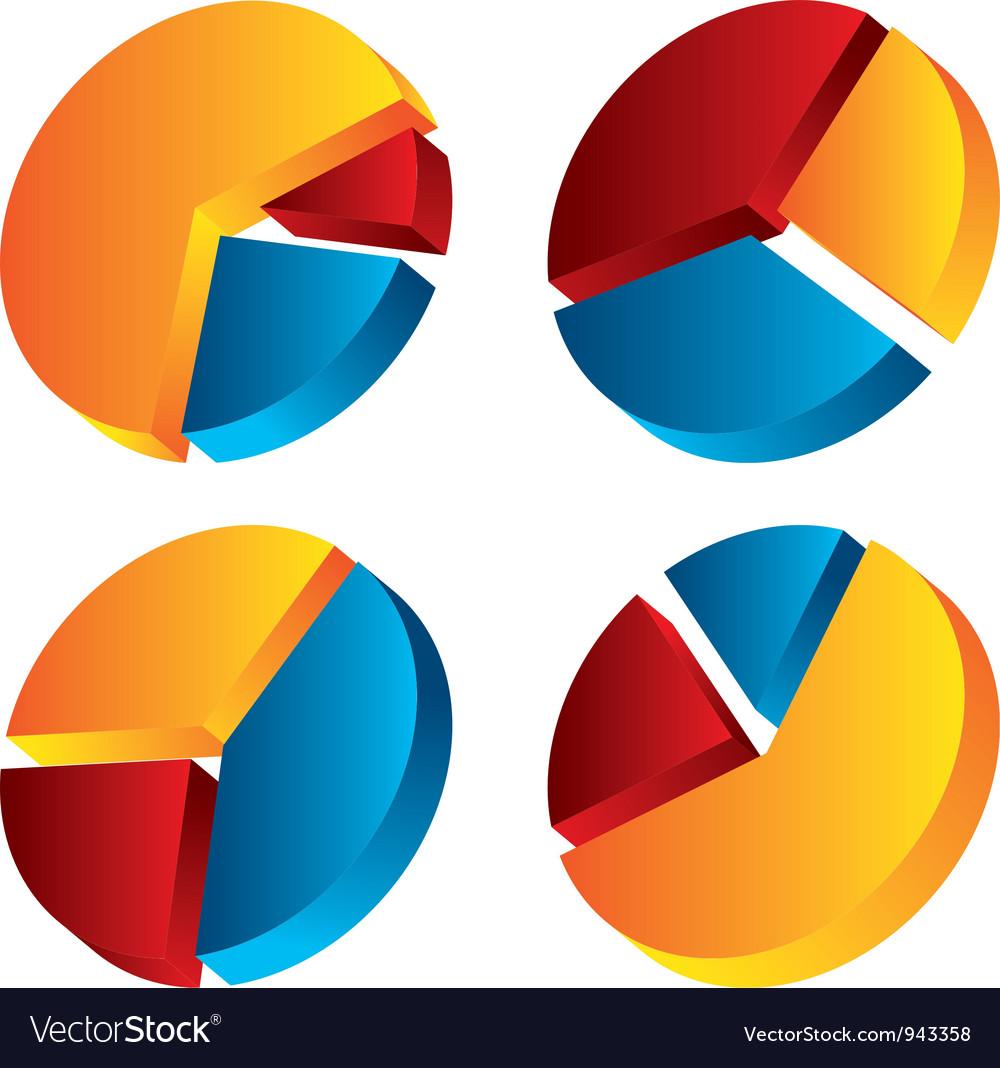 Set of graphic chart