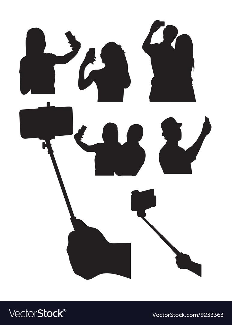 Selfie Silhouettes
