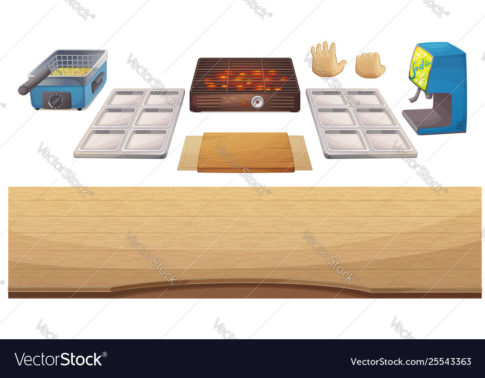 Utensils for cooking game