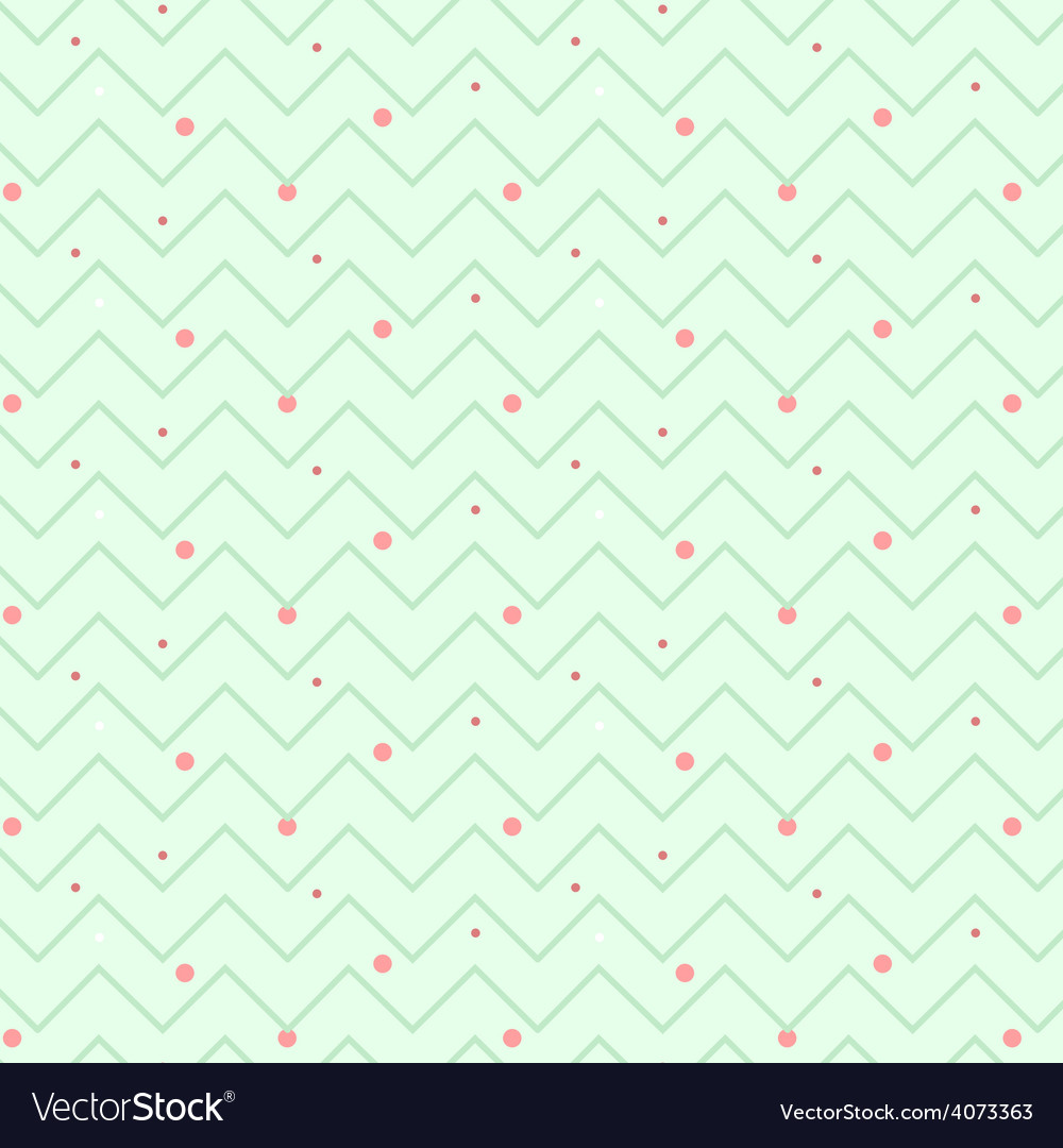 Zigzag christmas pattern