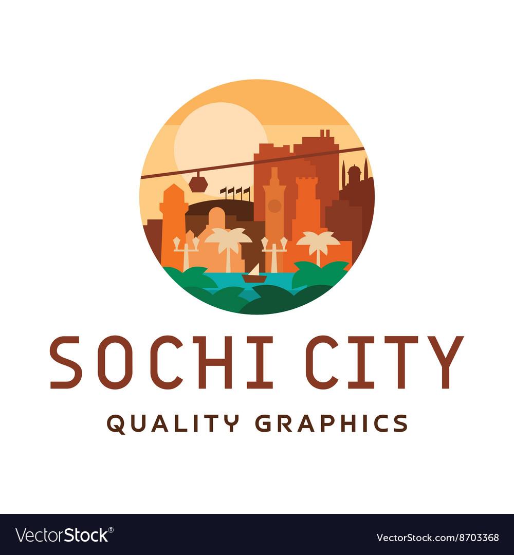 Sochi light sunny city sea sun