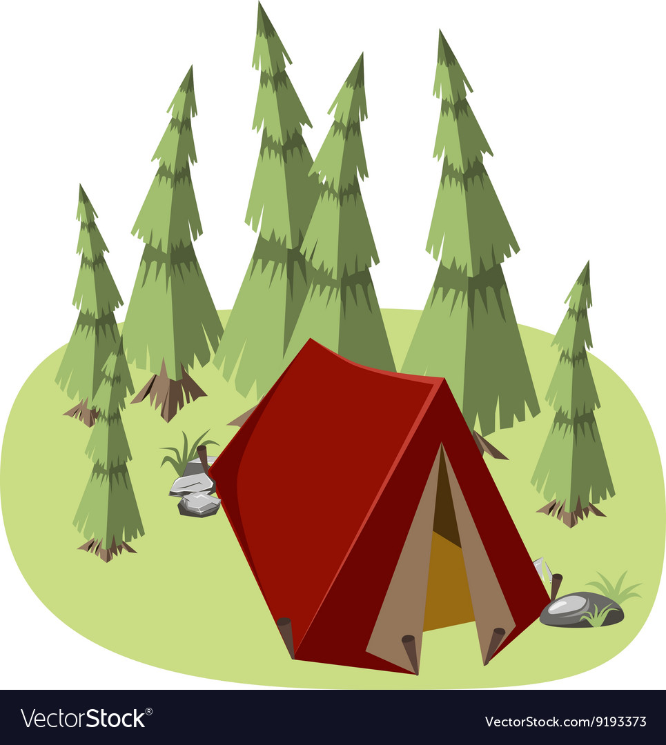 Tent for hiking