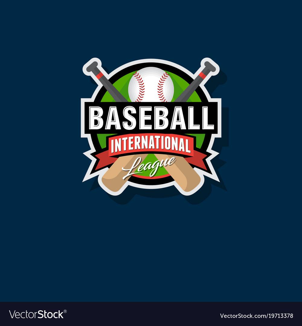 Baseball tournament emblem
