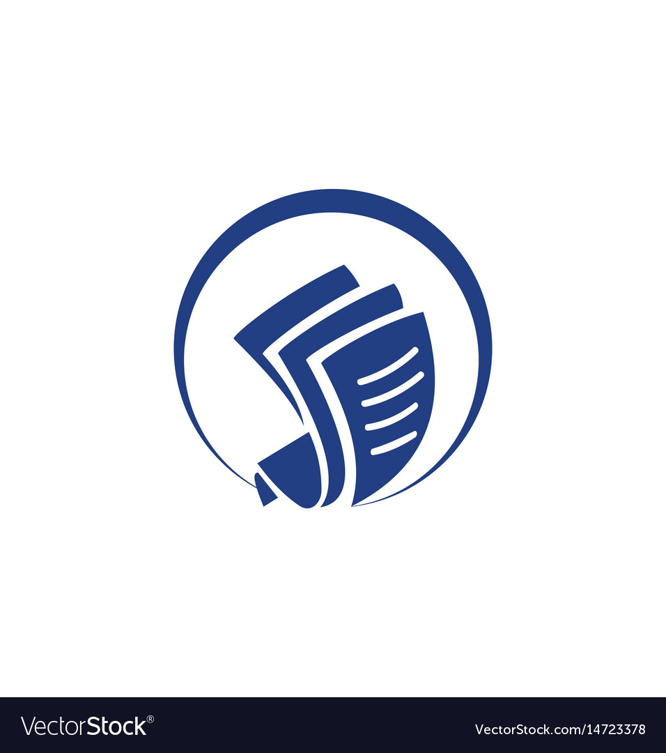 Document paper round logo