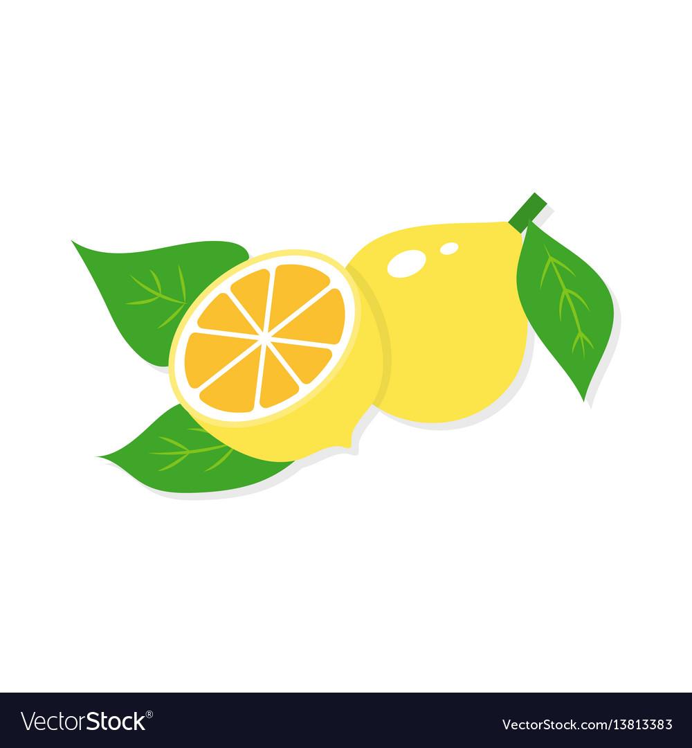 Flat of lemon