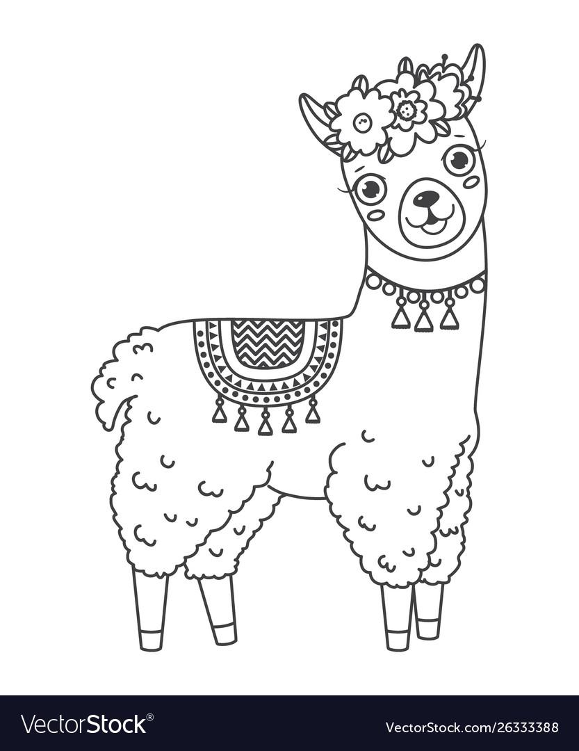 100+ EPIC Best Llama Clip Art Black And White Free - hd ...