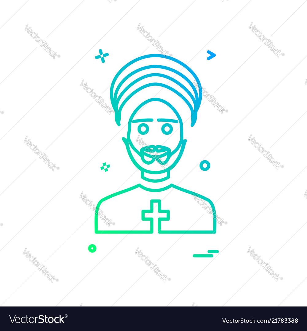 Father icon design