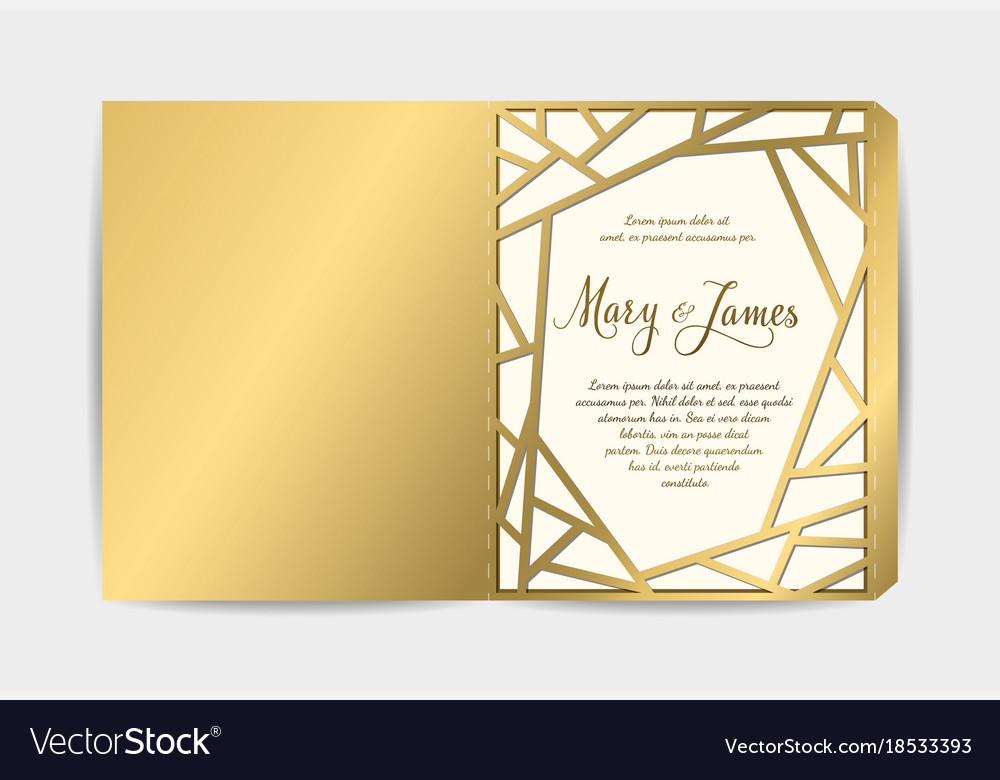 Envelope for wedding invitation or greeting card
