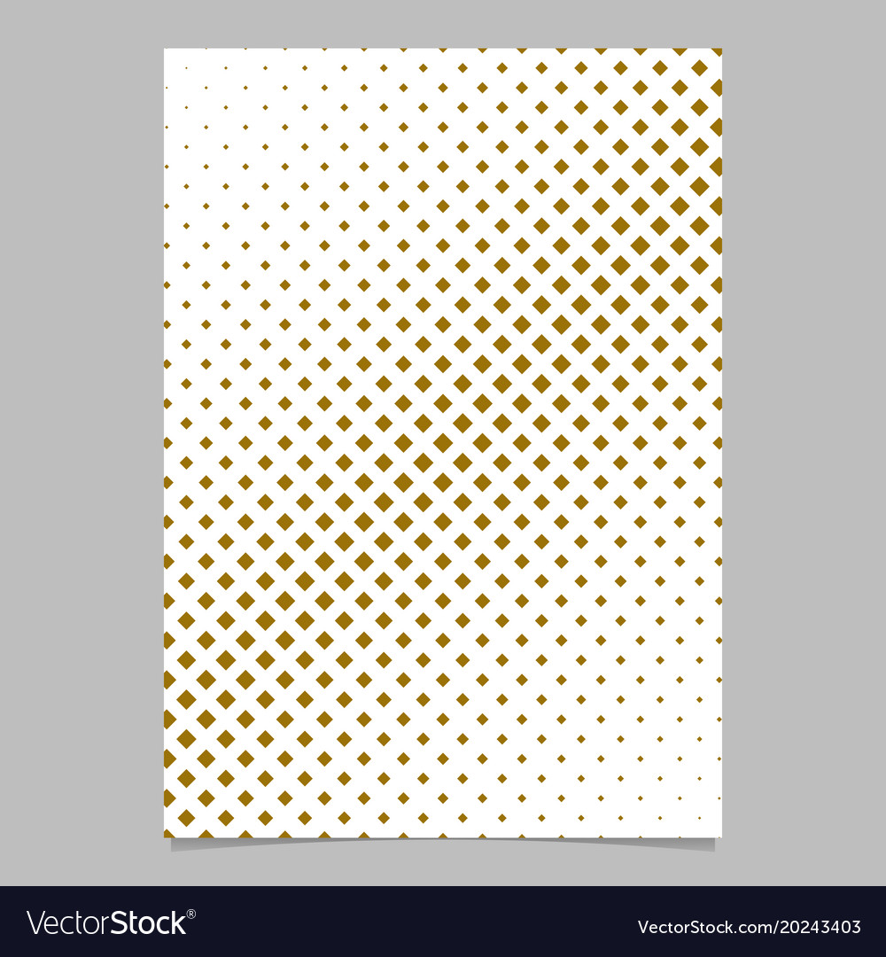 Halftone diagonal square background pattern