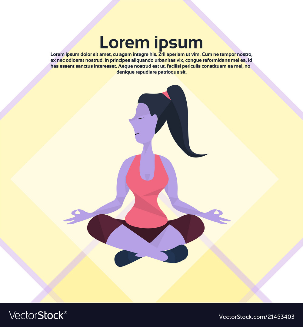 Violet cartoon character girl sitting pose doing