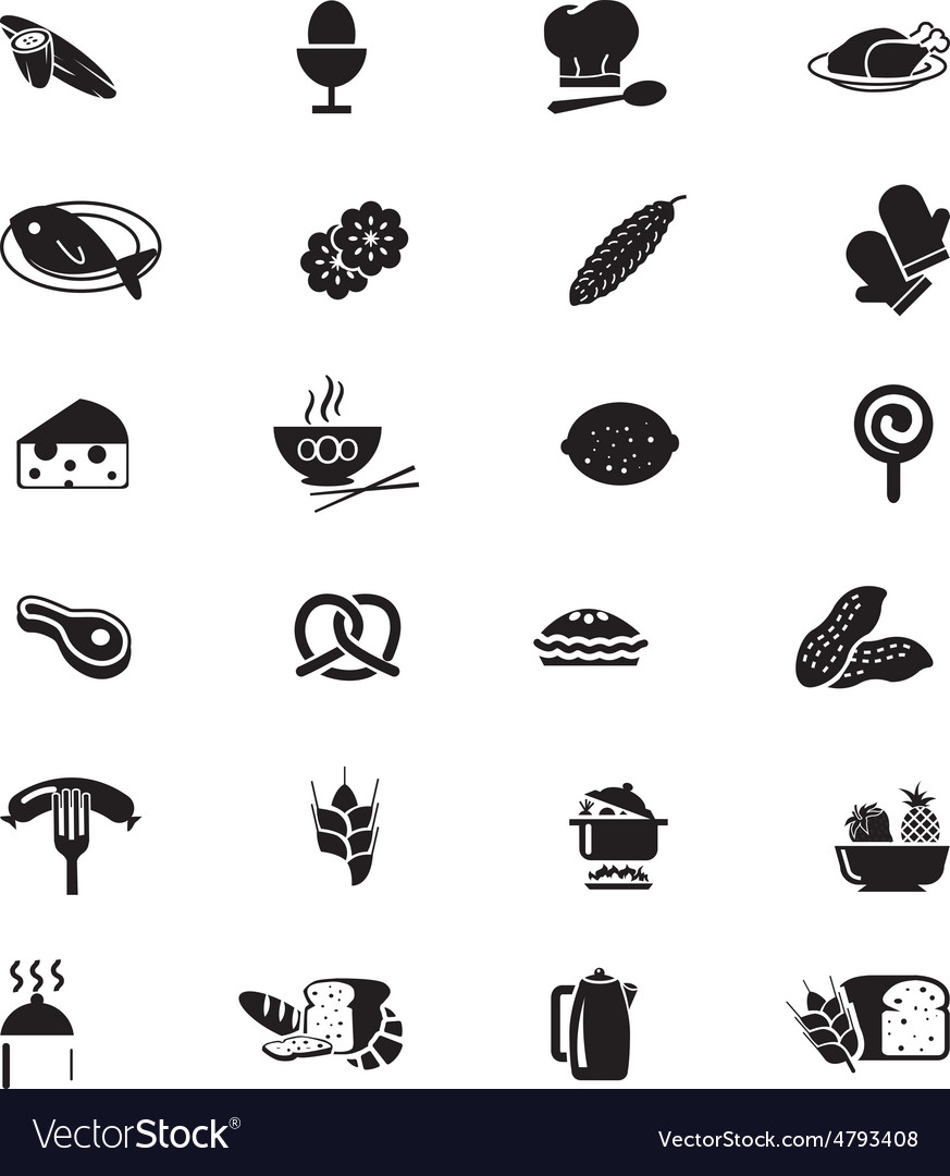 Food Solid Icons 8