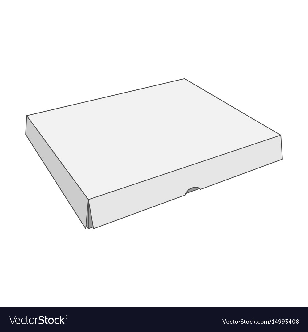 Paper white box template