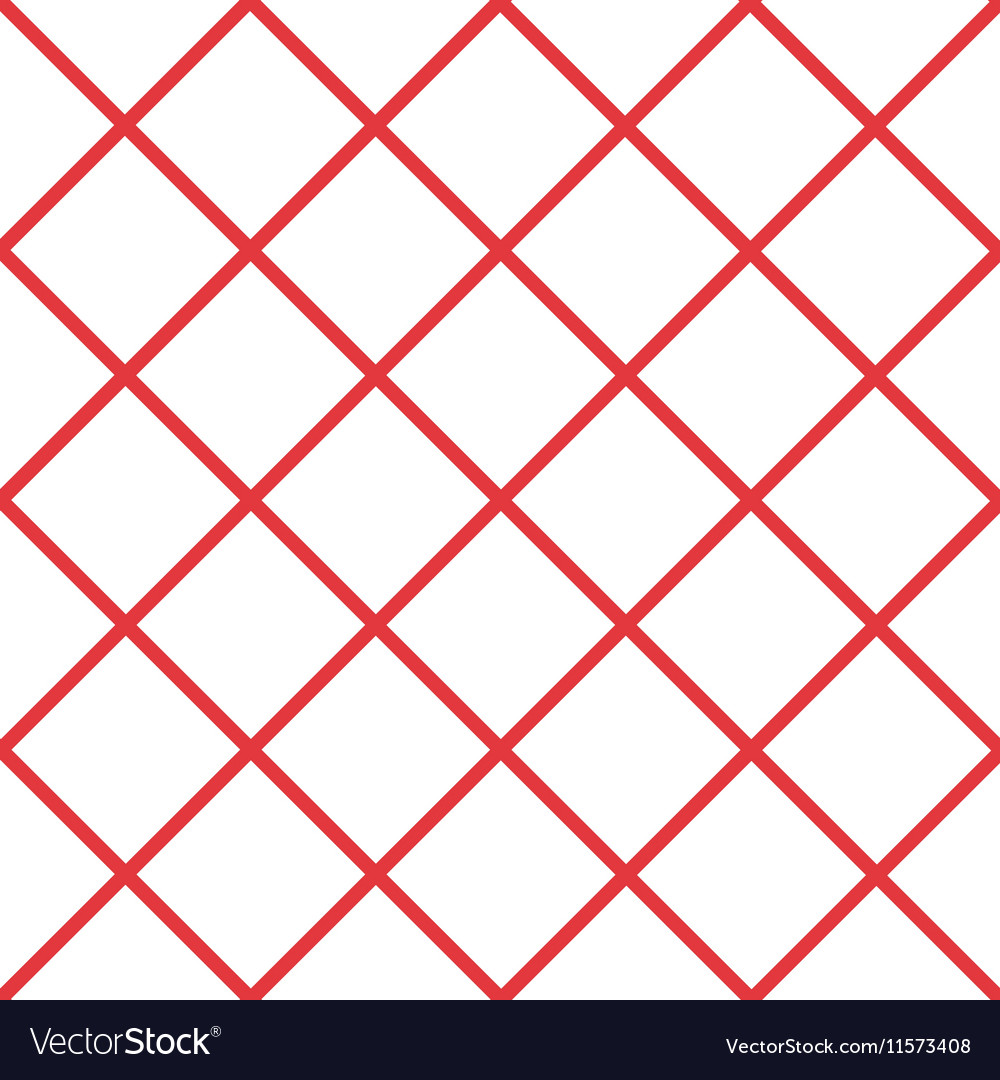 Red White Grid Chess Board Diamond Background