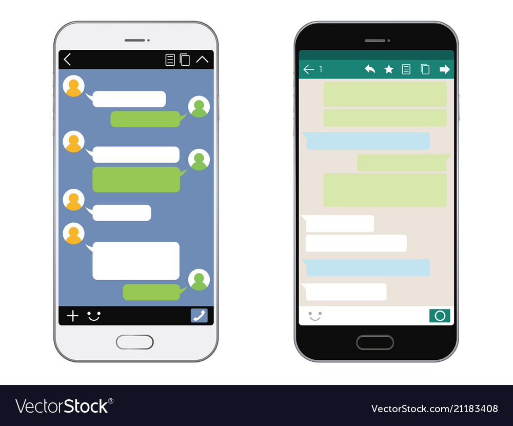 Smartphones with sns interfaces