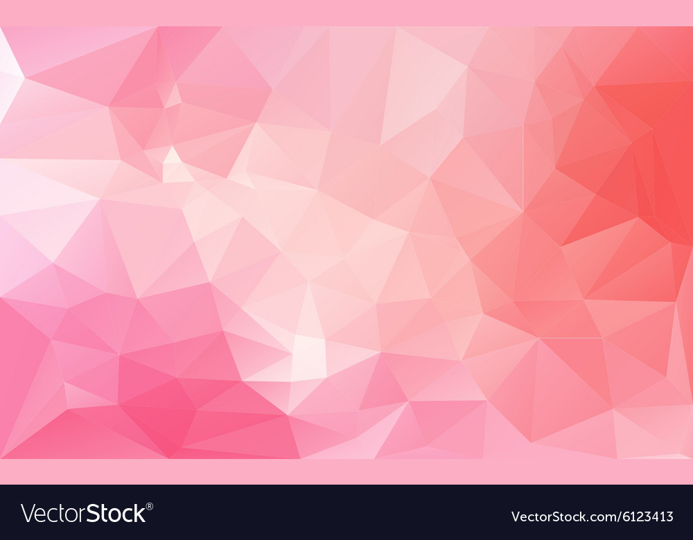 Abstract background in pink tones vector image