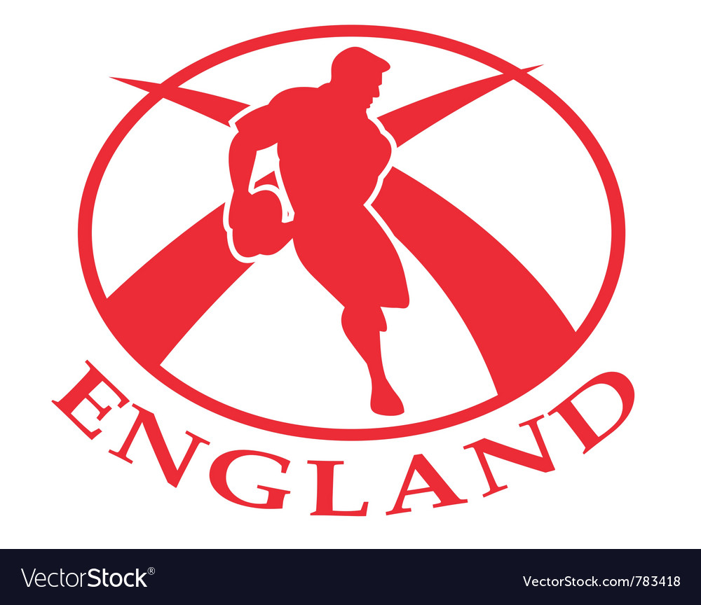 England rugby logo vector image