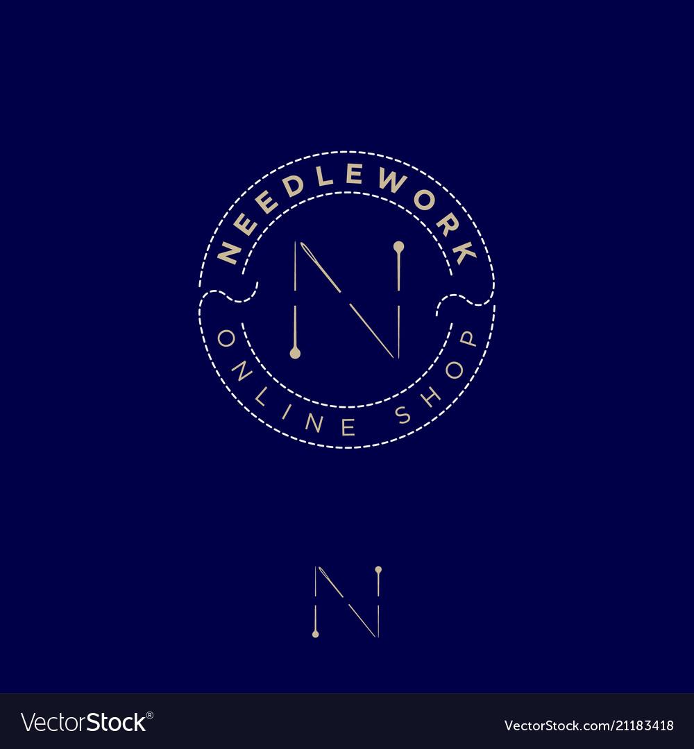 Logo needlework pins needle thread online shop