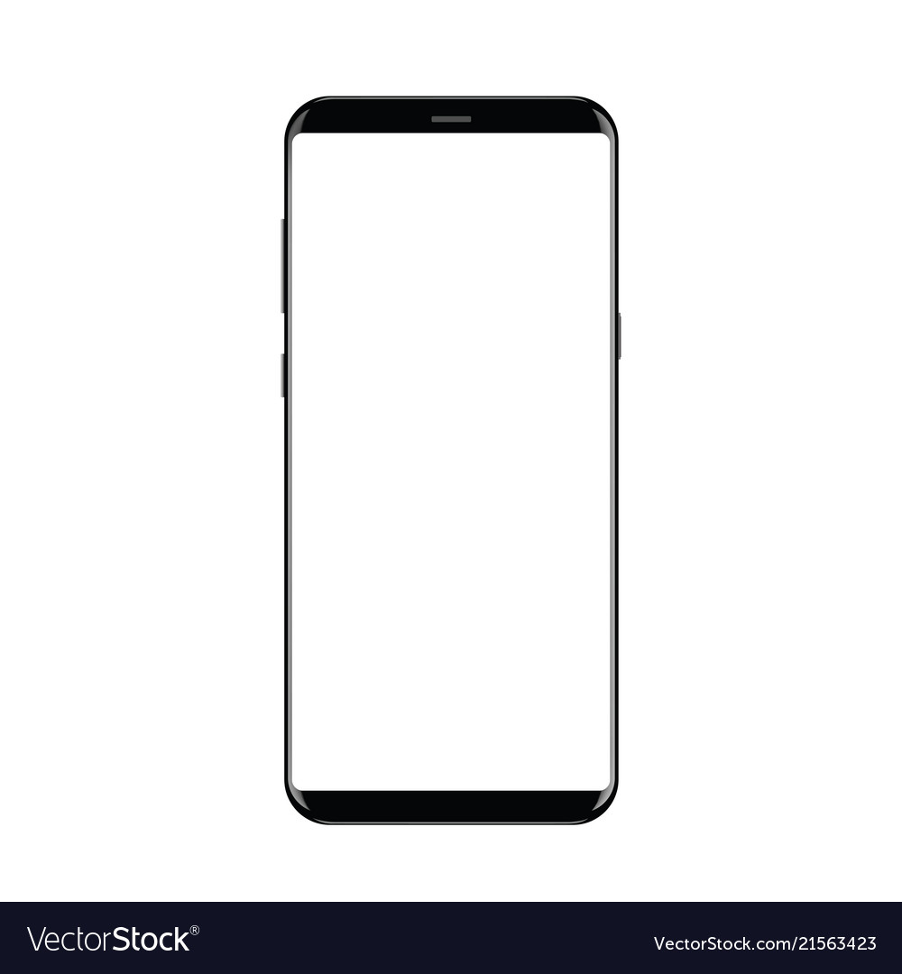 Realistic smartphone Royalty Free Vector Image