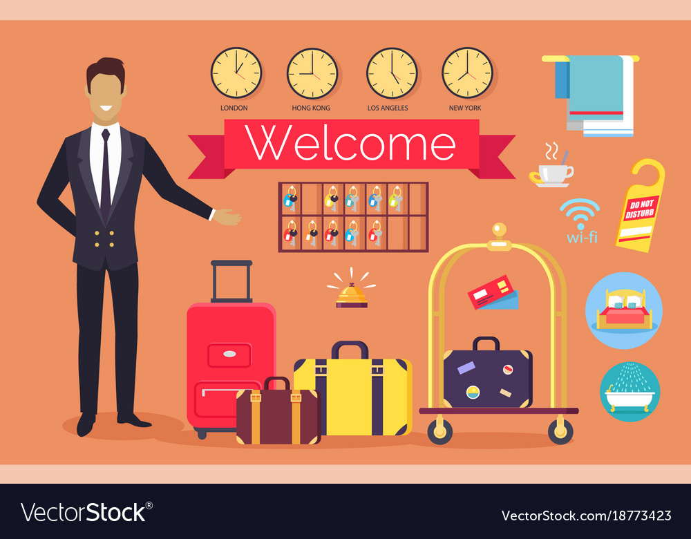 Welcome hotel services