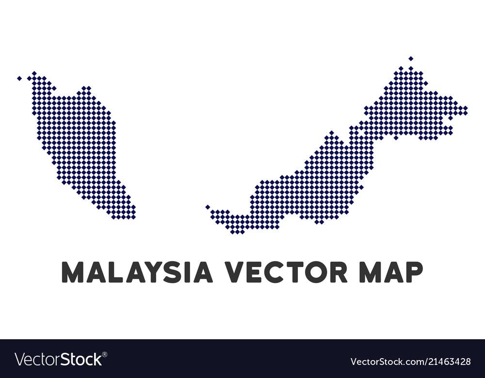 Dot malaysia map