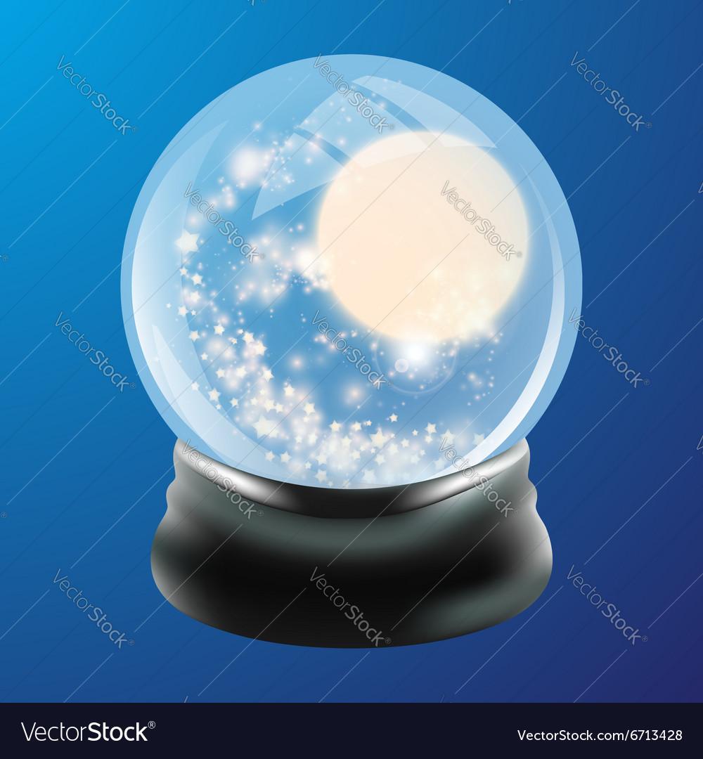 Snow globe template