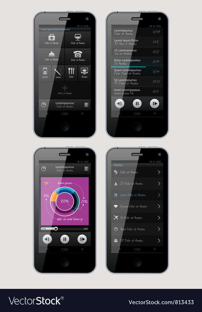 Interface for phone