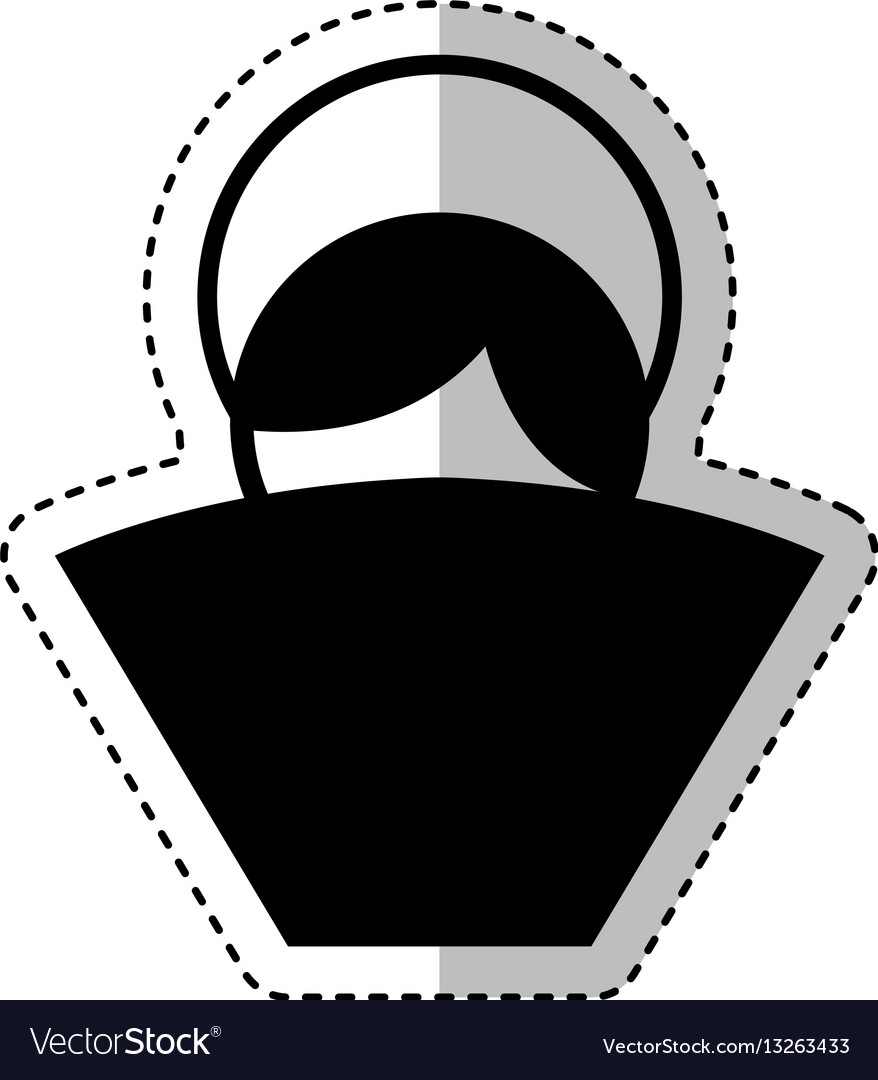 Manger jesus baby figure silhouette icon