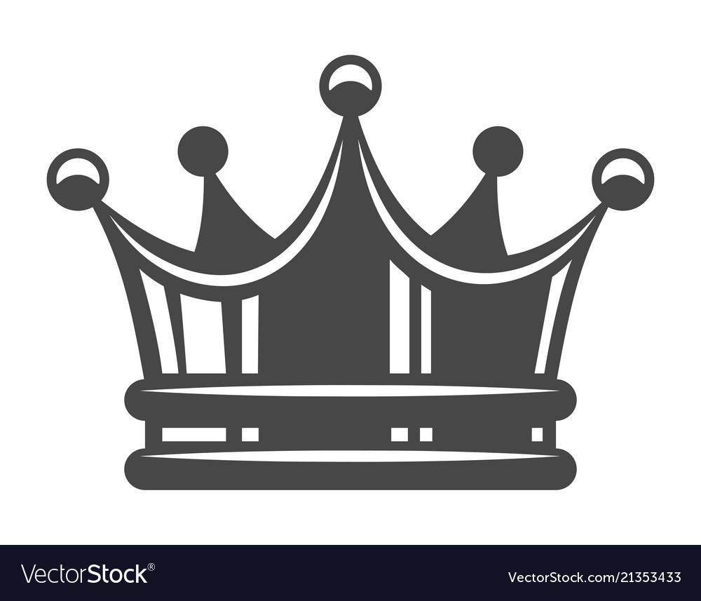 Vintage royal crown concept