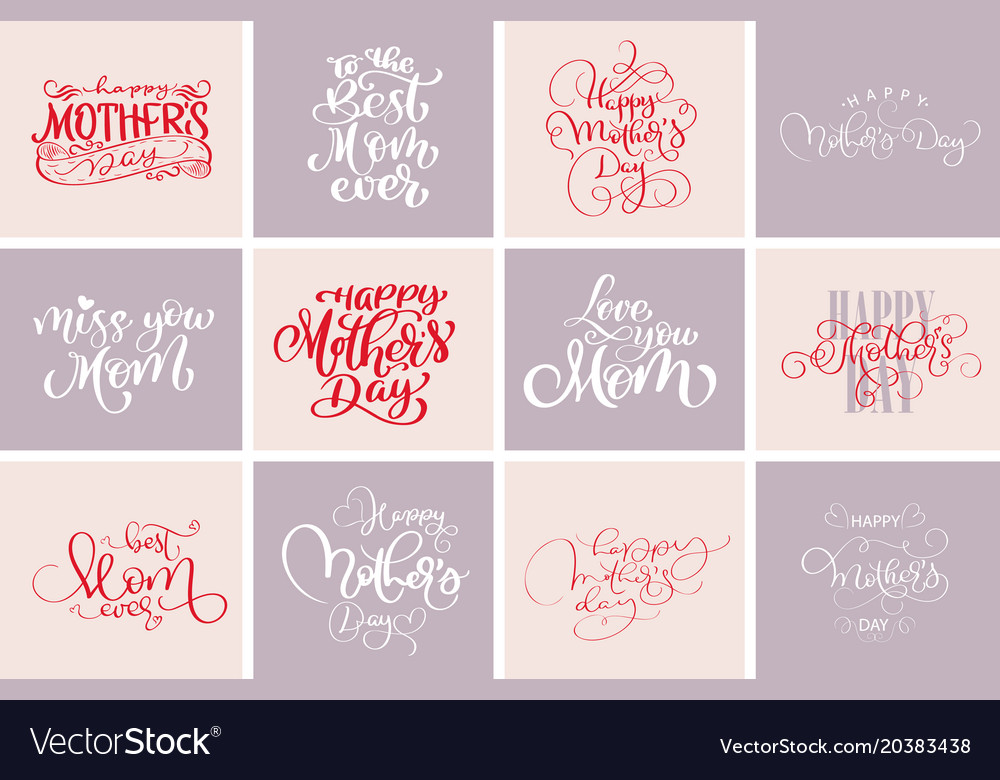 Happy mothers day quotes best mom ever set of