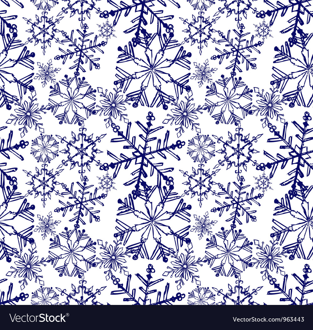 Background snowflake winter